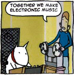 Together we make electronic music