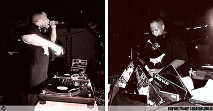 DJ Premier under spelning (foto: Markus Rödder, whoshotyou.de)