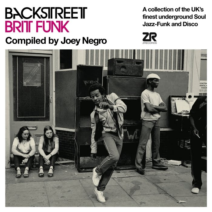 Samling: Backstreet Brit Funk – Compiled by Joey Negro