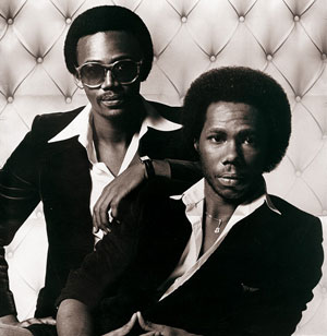 Nile Rodgers och Bernard Edwards