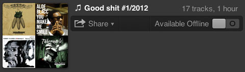 good shit 1 2012