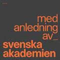 Svenska Akademien: Med anledning av